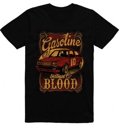 Pánské tričko Gasoline instead of blood
