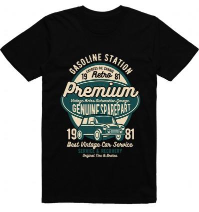 Pánské tričko Premium garage