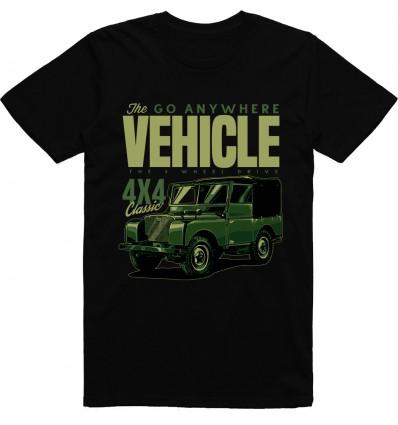 Pánské tričko The go anywhere vehicle