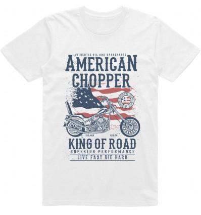 Pánské motorkářské tričko American chopper
