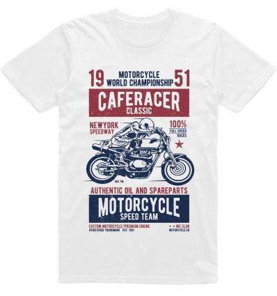 Pánské motorkářské tričko Caferacer classic