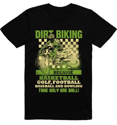 Pánské motorkářské tričko Dirt biking