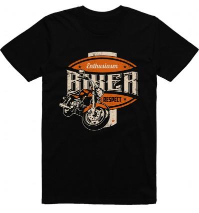 Pánské motorkářské tričko Enthusiasm biker