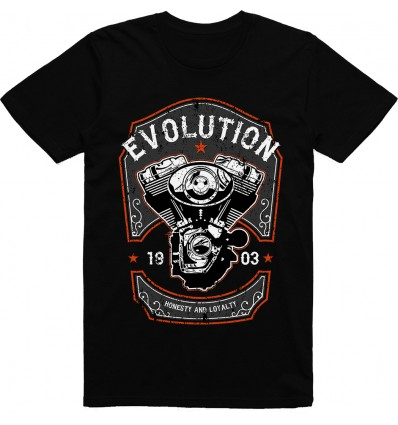 Pánské motorkářské tričko Evolution