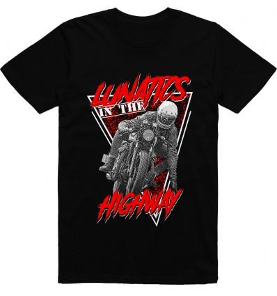 Pánské motorkářské tričko Lunatics