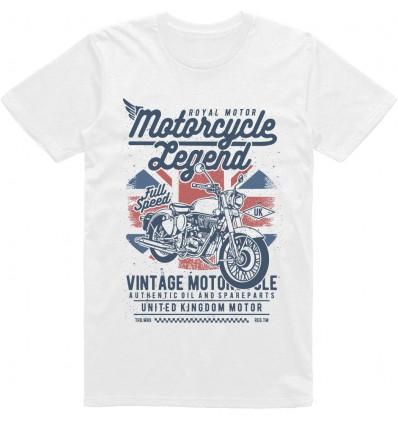 Pánské motorkářské tričko Motorcycle legend