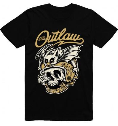 Pánské motorkářské tričko Outlaw