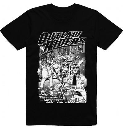 Pánské motorkářské tričko Outlaw biker