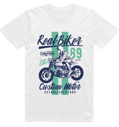 Pánské motorkářské tričko Real biker