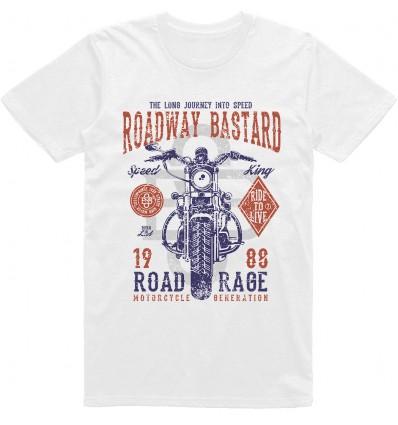 Pánské motorkářské tričko Roadway bastard