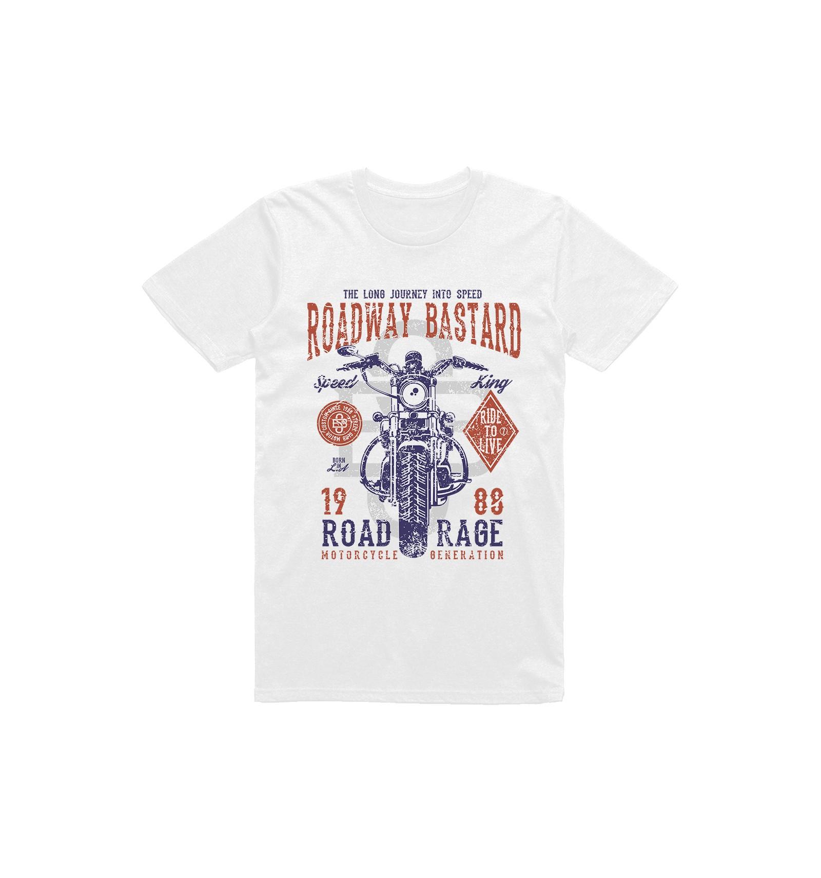 23c88aad96f8 Pánské motorkářské tričko Roadway bastard - Gentlemansgarage.cz