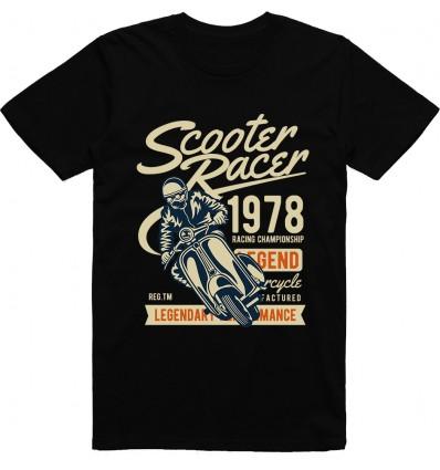 Pánské motorkářské tričko Scooter racer