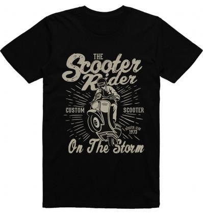 Pánské motorkářské tričko Scooter rider