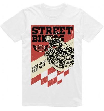 Pánské motorkářské tričko Street bikers