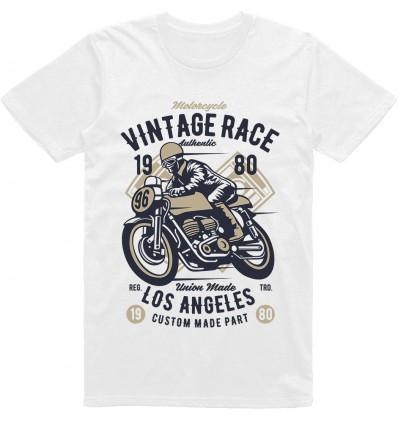 Pánské motorkářské tričko Vintage race