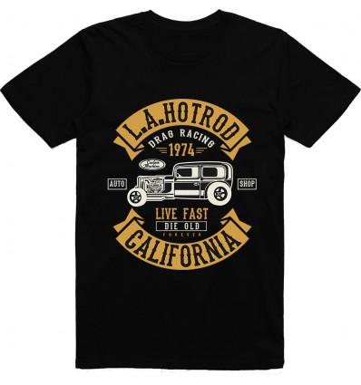 Pánské tričko L.A. Hot Rod