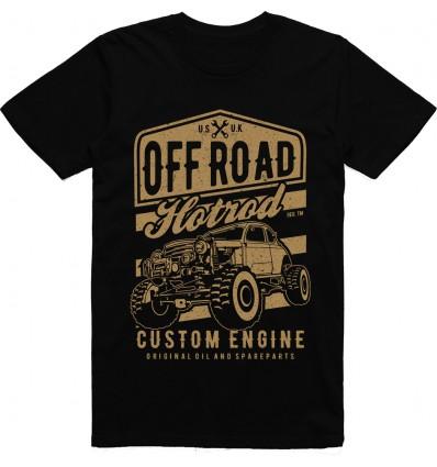 Pánské tričko Offroad Hot Rod