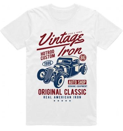 Pánské tričko Vintage iron