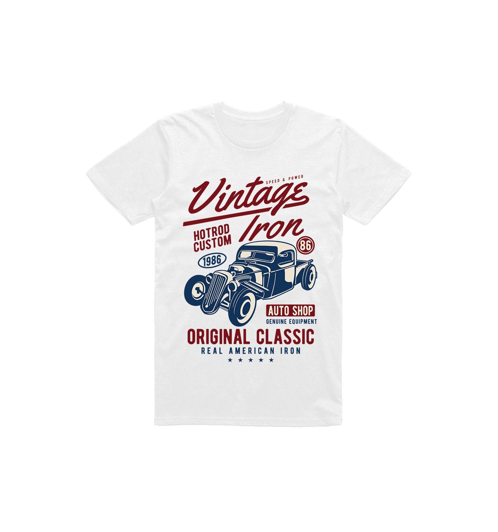 e56bde7453e3 Pánské tričko American muscle - Gentlemansgarage.cz