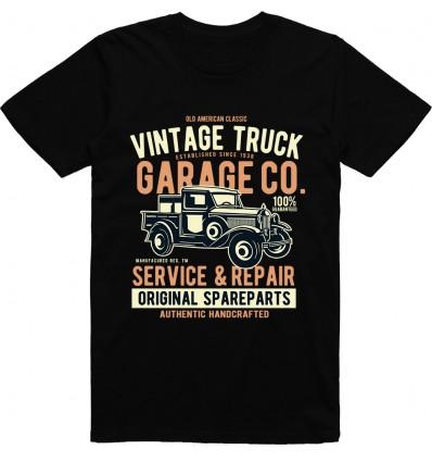 Pánské tričko Vintage truck
