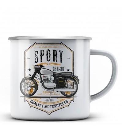 350-361 Sport hrnek - plechový