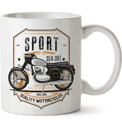 350-361 Sport hrnek - keramický