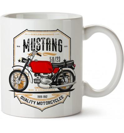 50-23 Mustang hrnek - keramický