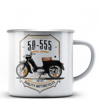 50-555 hrnek - plechový