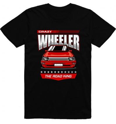 Pánské tričko Crazy wheeler