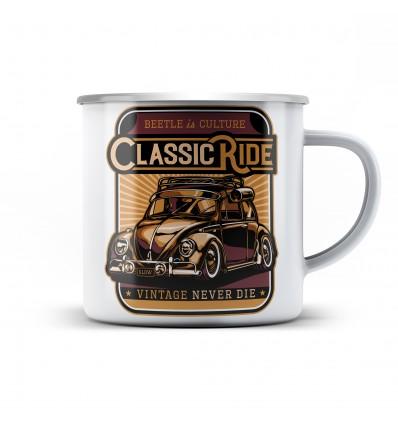 Plechový hrnek s Classic ride