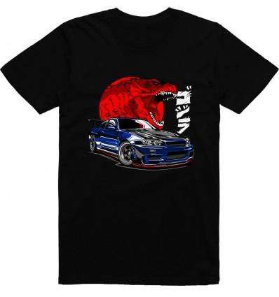 Pánské tričko GTR R34