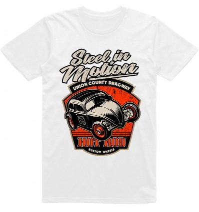Pánské tričko HotRod Steel in motion