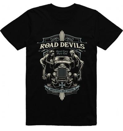 Pánské Tričko HotRod Road devil