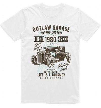 Pánské tričko HotRod Outlaw Garage