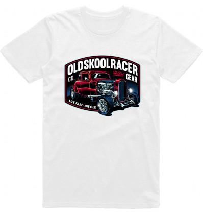 Pánské tričko HotRod Oldskool Racer