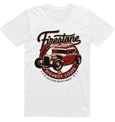Pánské tričko HotRod Highboy coupe factory