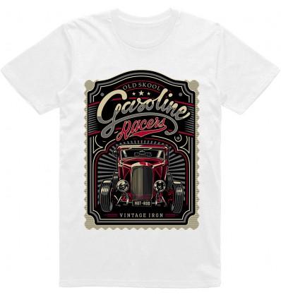 Pánské tričko HotRod Gasoline racer