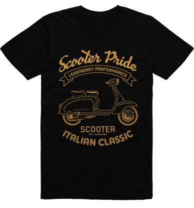 Pánské motorkářské tričko Scooter pride