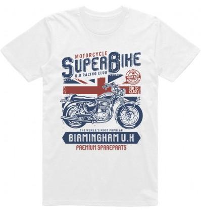 Pánské motorkářské tričko Superbike UK