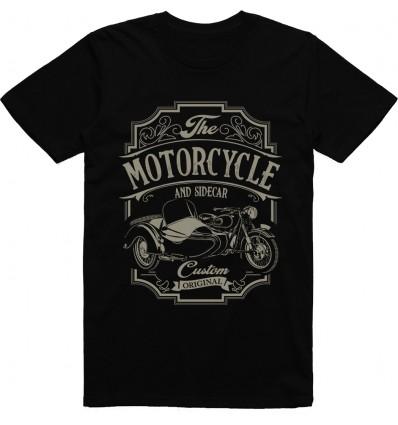 Pánské motorkářské tričko Sidecar motorcycle