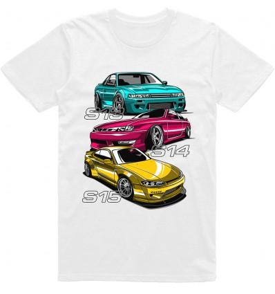 Pánské tričko Nissan S Chasiss