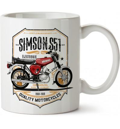Hrnek Simson S51 Elektronik