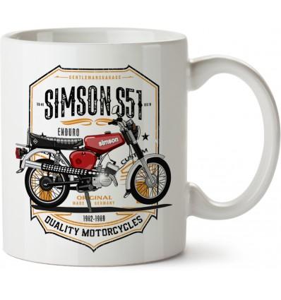 Hrnek Simson S51 Enduro