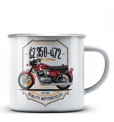 ČZ 350-472 Hrnek - plechový
