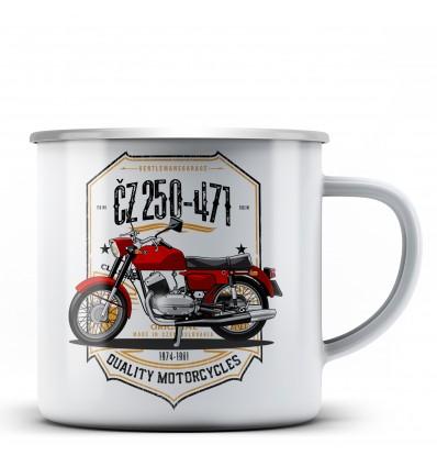 ČZ 250-471 Hrnek - plechový