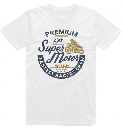 Pánské motorkářské tričko Premium super motor
