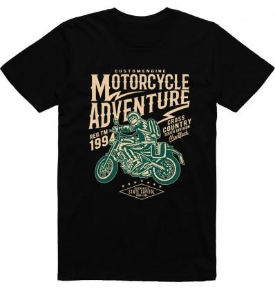 Pánské motorkářské tričko Motorcycle adventure