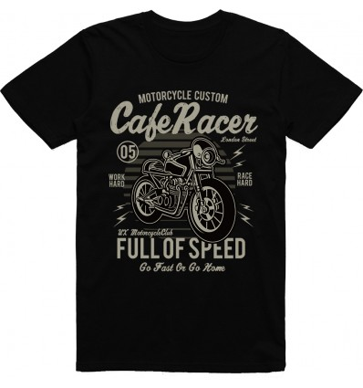 Pánské motorkářské tričko Born to ride