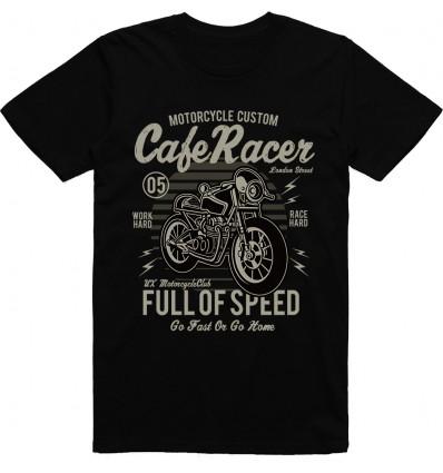 Pánské motorkářské tričko Cafe racer 2