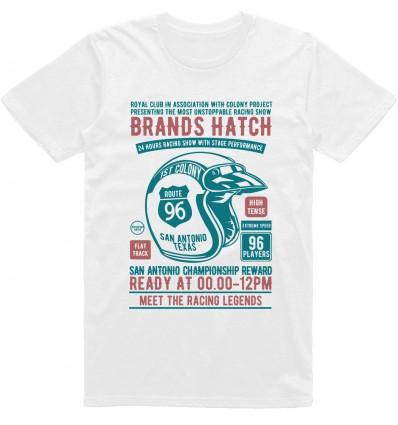 Pánské motorkářské tričko Brands hatch racing